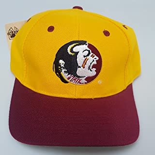 NCAA New Florida State University Embroidered Snap back Hat Green Under Brim