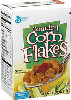 General Mills-Country Corn Flake Cereal, 0.69-Ounce Single Packs (Pack of 70)