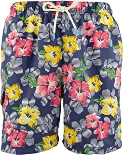 Hibiscus High Line Swim Trunks
