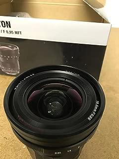 Voigtlander Nokton 10.5mm f/0.95 Manual Focus Lens for Micro 4/3 Mount