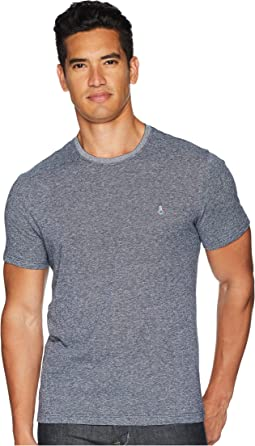Original Penguin Short Sleeve Linen Cotton T-Shirt