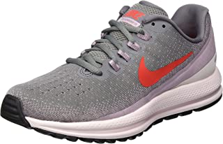 Nike Women's WMNS AIR Zoom Vomero 13 Gunsmoke/Habanero RED-Elemental Rose Running Shoes-6 UK (40 EU) (8.5 US) (922909-004)