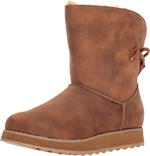 Skechers Women's Keepsakes 2.0 - Mid Pull on Boot with Back Tie Fashion