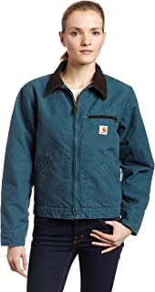 Carhartt Women's Sandstone Duck Detroit Jacket