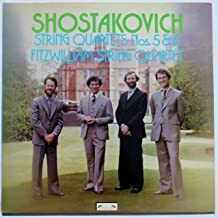 Shostakovich: String Quartets Nos. 5 & 6 - Fitzwilliam String Quartet