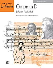 Canon in D: Sheet (Simply Classics Solos)