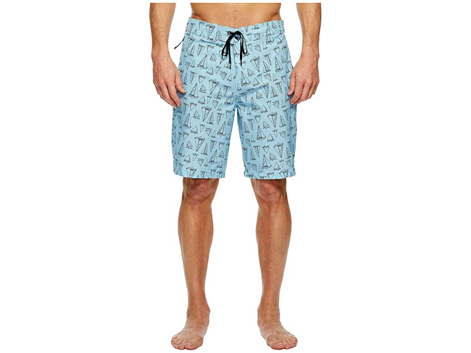 Hurley Phantom JIF IV Maritime 20 Boardshorts (Ocean Bliss) Men