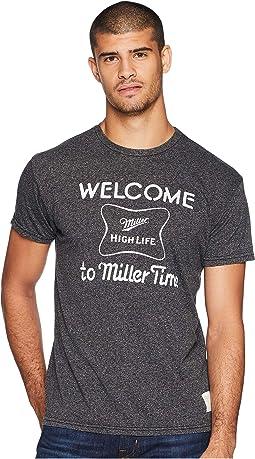 Its Miller Time Mocktwist Tee