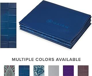 gaiam–Alfombrilla Plegable para Yoga, 2mm
