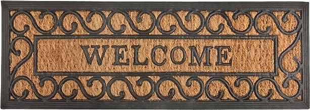 Esschert Design RB169 Long Welcome Rubber & Coir Doormat