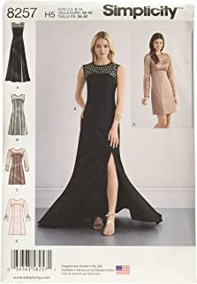 Simplicity 8257 Special Occasion Formal Dress and Gown Sewing Pattern, Sizes 4-12