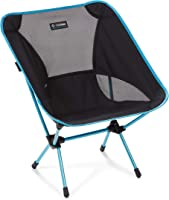 Helinox Chair One | Award Winning Lightweight Camping Chair - Perfect Outdoor Folding Chair - 145kg Capacity (Black)