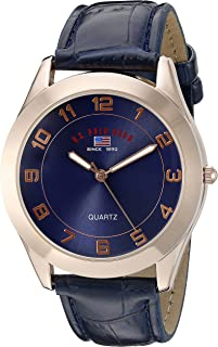 Sport Men's US5219 Watch with Blue Leather Band