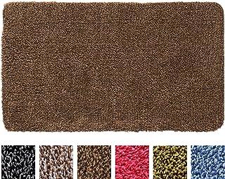 IRONGECKO Original Durable Absorbs Microfiber Mud Indoor Mat 2 Pack (29.5x17.4) Heavy Duty Door mat | Easy Clean, Low-Prof...