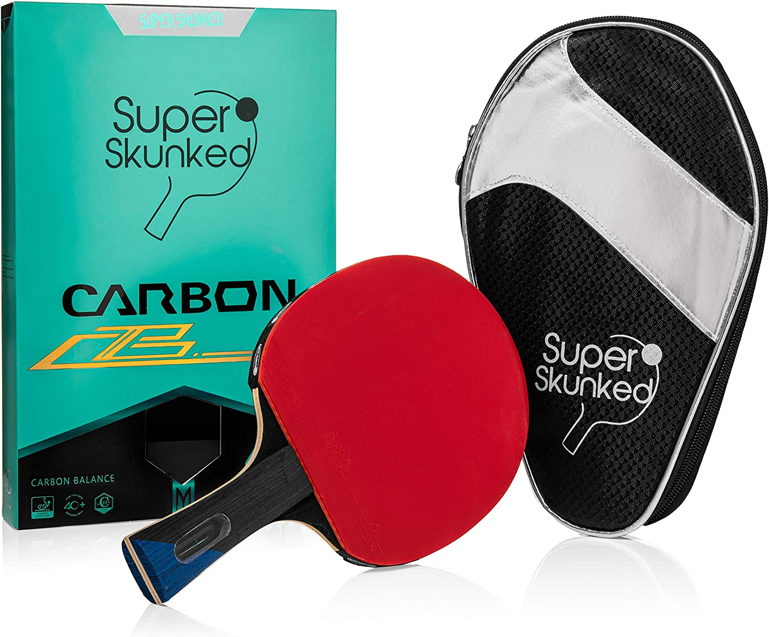 Ranking TOP15 Super Skunked Carbon Balance Ping Table Pong Racke Paddle Branded goods Tennis