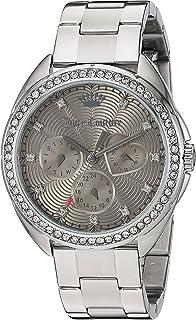 Juicy Couture Women's 'LA Ultra Slim' Quartz Gold-Tone and Leather Quartz Watch Color: Brown (Model: 1901478)