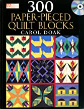 300 Paper-Pieced Quilt Blocks (Book & CD)