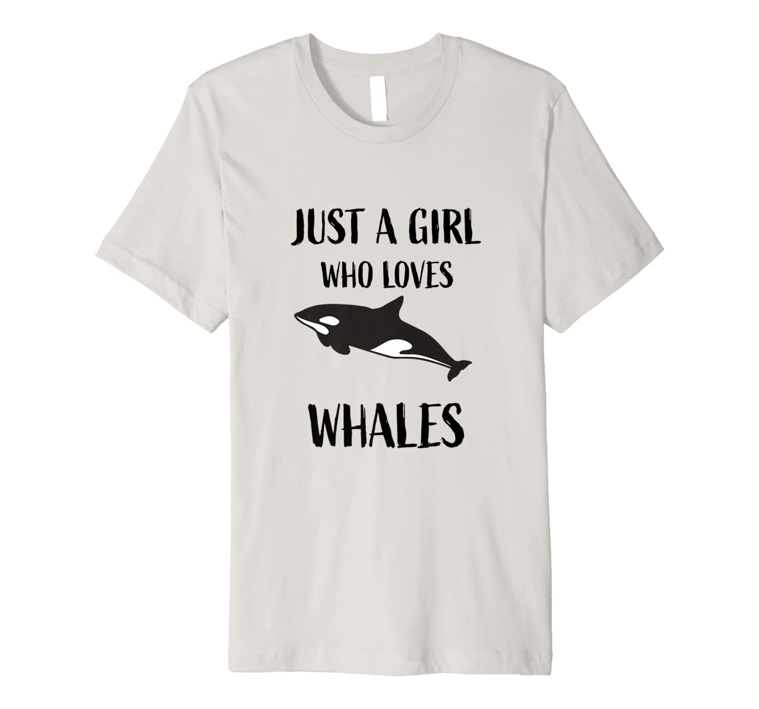 Funny Orca Whale Killer Gift For Girls Premium T-Shirt-ANZ