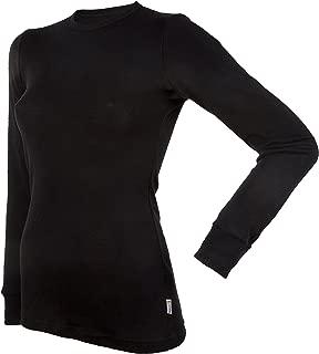 100% Merino Wool Women's Long Sleeve T-Shirt Made in Norway.