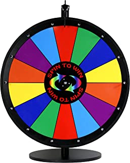 24 Inch Quality Spin to Win Dry Erase Prize Wheel