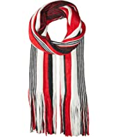 Free People - Kolby Striped Fringe Scarf