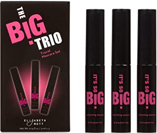 1aa5c734e70 It's So BIG Volumizing Mascara (Black) by Elizabeth Mott (3 Pack - Travel