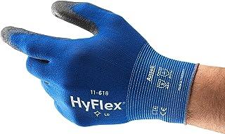 Ansell HyFlex 11-618 Guantes de Trabajo de Nylon, Extra-