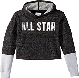 Converse Kids - Lurex Fleece Pullover (Big Kids)