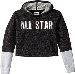Converse Kids Lurex Fleece Pullover (Big Kids)