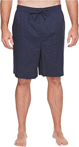 Nautica Big & Tall - Big & Tall Mediterranean Dot Sleep Shorts