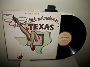 THE BEST LITTLE WHOREHOUSE IN TEXAS - vinyl lp. ORIGINAL CAST - CLINT ALLMON - PAMELA BLAIR - LISA BROWN, AND OTHERS. - 20 FANS - A LIL' OLE BITTY PISSANT COUNTRY PLACE - GIRL, YOU'RE A WOMAN - WATCH DOG THEME, AND OTHERS.