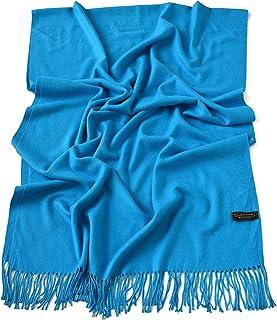 865ca0d53 CJ Apparel Thick Solid Colour Design Cotton Blend Shawl Seconds Scarf Wrap  Stole Throw Pashmina NEW