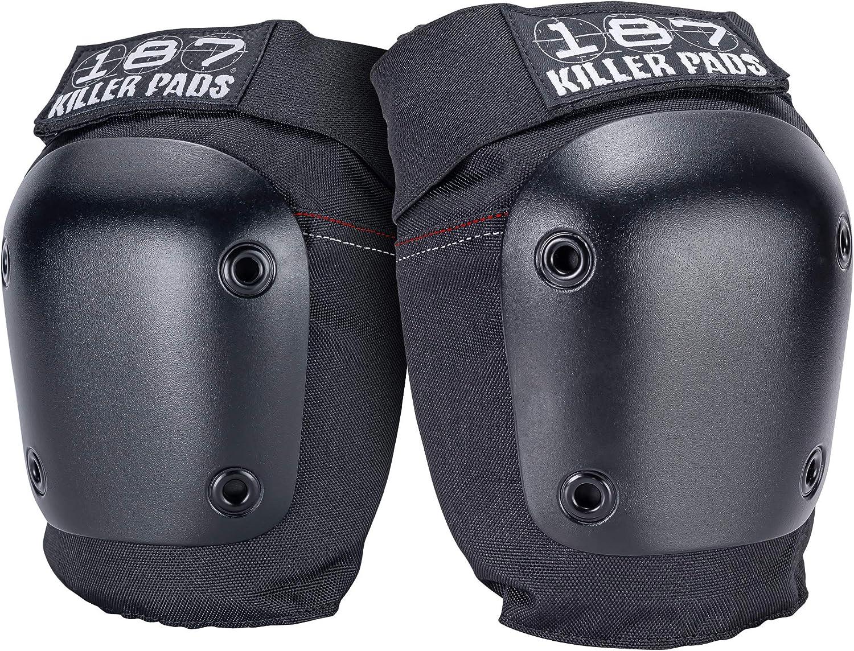 187 KILLER PADS Unisex Kneepads Pro Derby Protective Equipment Schutzausr/üstung Kneepads Pro Derby Unisex