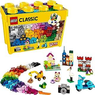 comprar comparacion LEGO Classic - Caja de ladrillos creativos grande, Set de Construcción con ladrillos de colores, Juguete Creativo y divert...