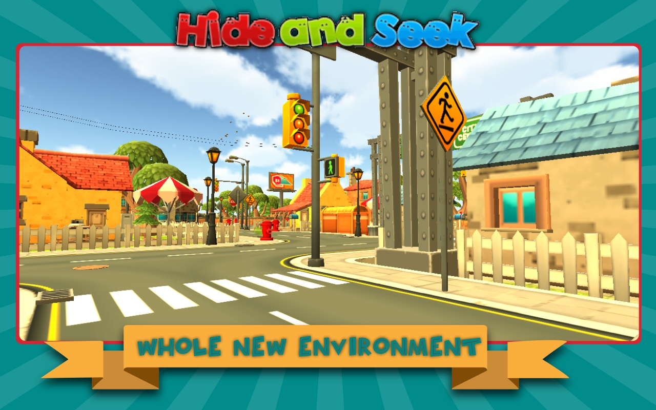 Multiplayer Hide and Seek