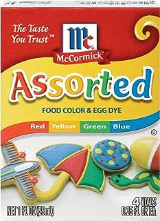 McCormick Assorted Food Color, 1 Fl Oz (Pack of 1)