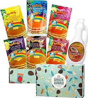 Snack Hawaii Pancake Mix & Coconut Syrup Gift Box