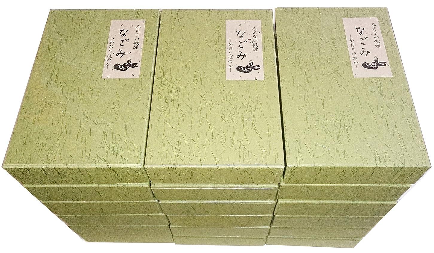 郵便キャッチ休眠淡路梅薫堂の無香料お線香 なごみ 135g×18箱 #108