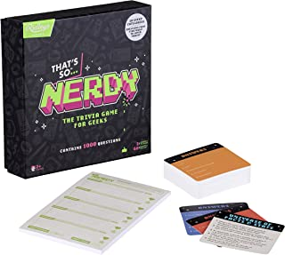 Ridley's That's So Nerdy Team Trivia Set Game for Families, Groups, and Parties