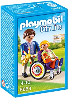 Playmobil City Life Child In Wheelchair Building Toy - (4 Years & Above) - Multi Color