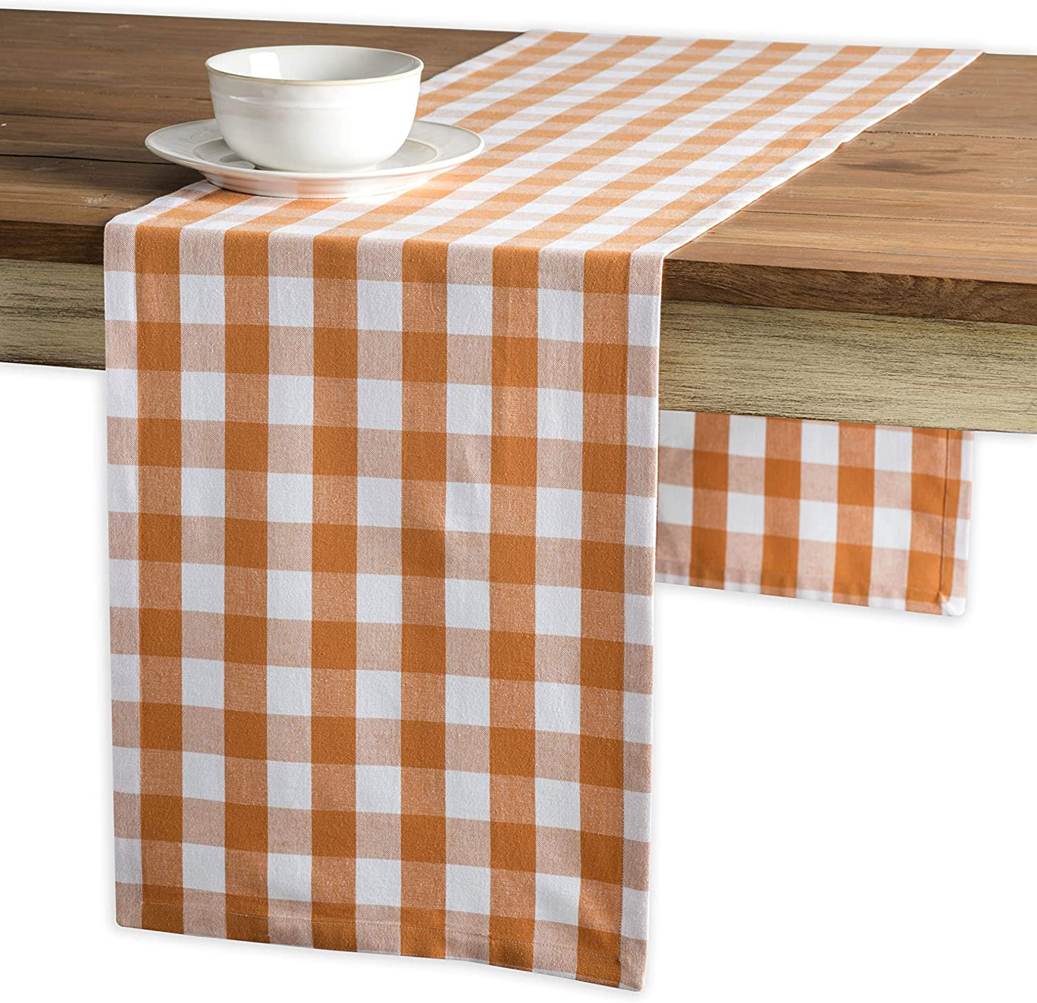 Maison d' Hermine Rosmalen - Apricot Runne Mail order Cotton Table Tan 100% Safety and trust