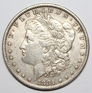 1881 O Morgan Silver Dollar $1 XF