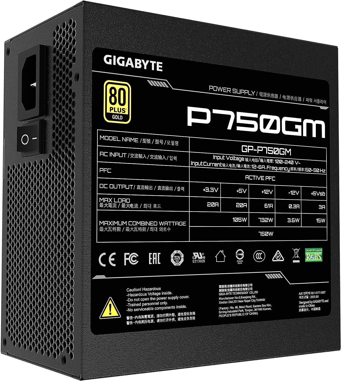 80 Plus Bronze Certified, Quiet Fan, Active Power Protection, Power Supply Gigabyte GP-P450B