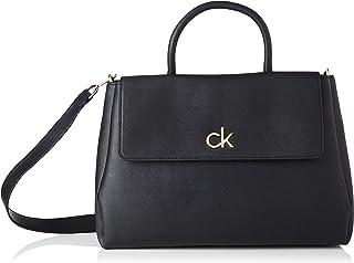 Calvin Klein RE-LOCK TOTE W/FLAP