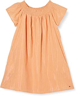 Tommy Hilfiger Lurex Stripe Dress S/S Vestido para Niñas