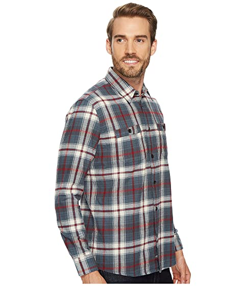 Shirt Raleigh Sleeve Quiksilver Waterman Long Flannel 0x4Fw