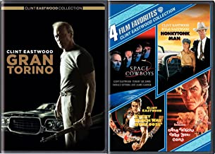 Clint Eastwood 5 Film Favorites Space Cowboys / Honkytonk Man / Every Which Way But Loose / Any Which Way You Can DVD + Gran Torino Feature movie set