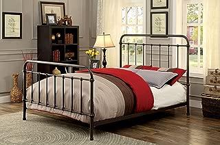 Furniture of America Overtown Bed, Eastern King, Dark Bronze