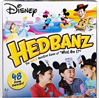 HedBanz Disney, Guessing Game Featuring Disney...