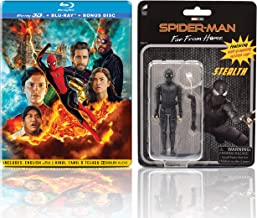 Spider-Man: Far from Home (Steelbook with Stealth Action Figure) (Blu-ray 3D + Blu-ray + Bonus Disc) (3-Disc)